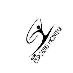Resultat d'imatges de Club esportiu Montbui. ritmica logo